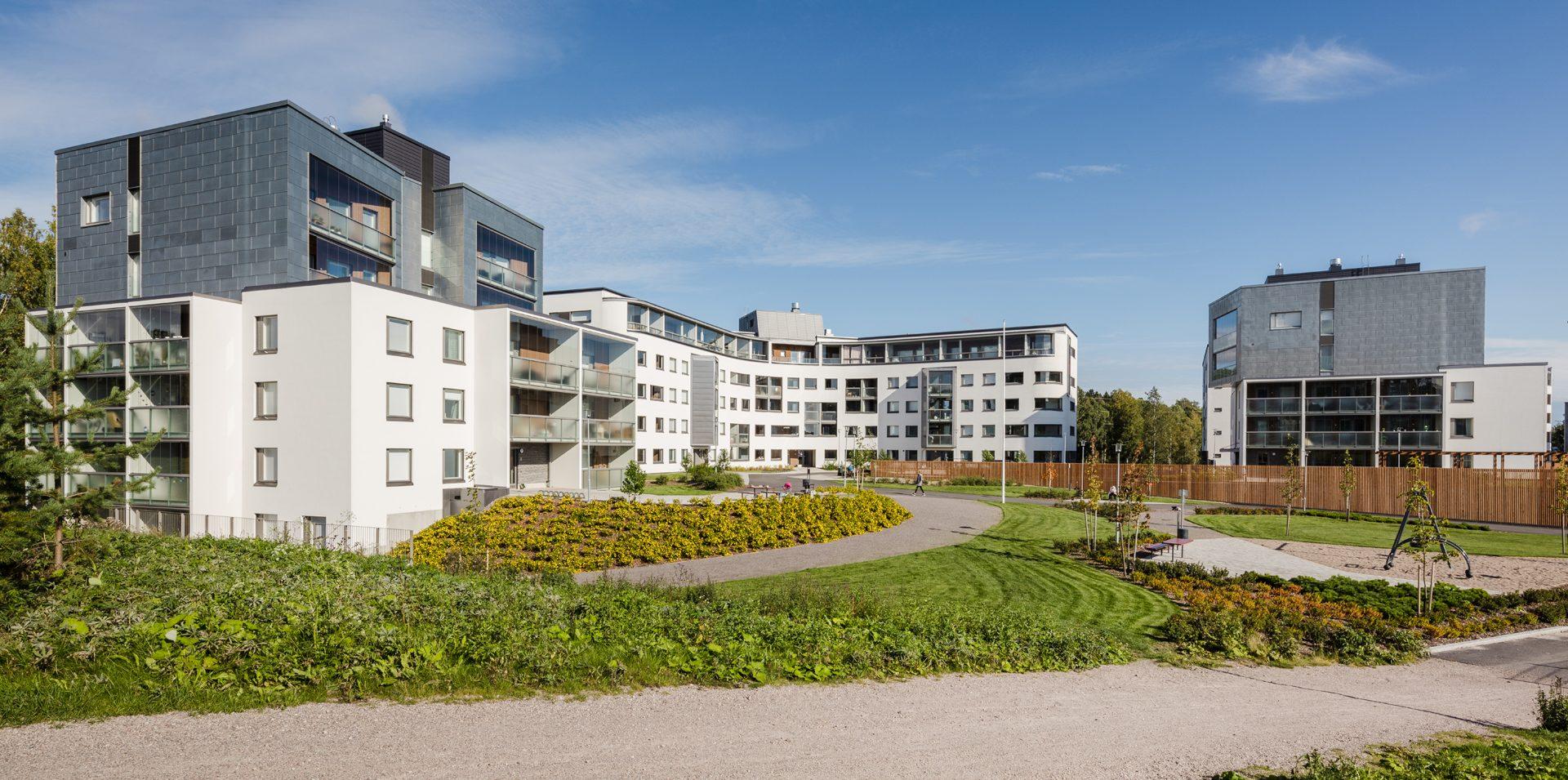 Ajatonta arkkitehtuuria Espoossa