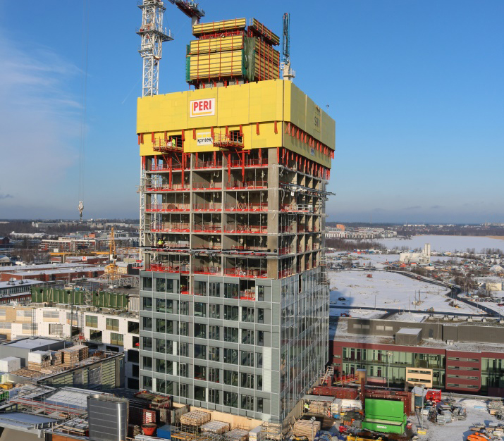 Betoni korkeassa rakentamisessa